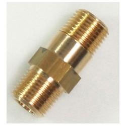 BLISTER RACC. DROIT LT MM 1/2 Rallonge laiton l. 55 mm