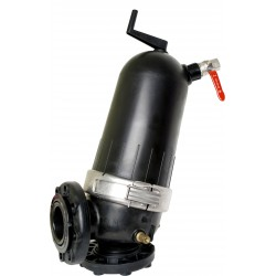Filtre 3'' 200µ 40m3/h Angle à tamis semi-automatique
