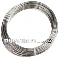 CABLE INOX d.6mm Metre